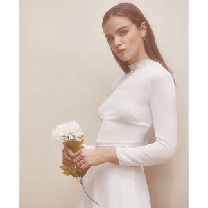 NWT Sonoma Dress in Ivory, sz 2